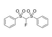Fluorobis(phenylsulfonyl)methane